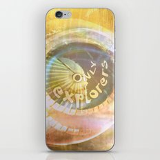 EXPLORERS ONLY / The Biggest Spatial Eye / 26-08-16 iPhone & iPod Skin