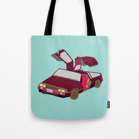 cool girls like flying cars Tote Bag