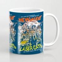 New Wave Laser Cats Mug