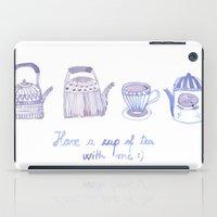 Decorative Teapots iPad Case