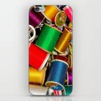 Sewing Thread iPhone & iPod Skin