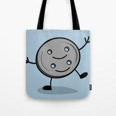 Siamese Twin Button Tote Bag