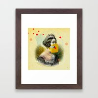 Another Portrait Disaster · Q1 Framed Art Print