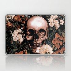SKULL AND FLOWERS II Laptop & iPad Skin