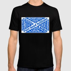 Scottish slang and phrases Mens Fitted Tee Black SMALL