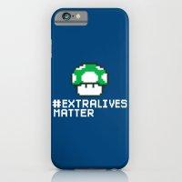 #Extra Lives Matter iPhone 6 Slim Case