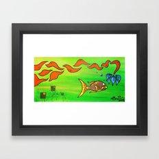 Mama Rock Me Framed Art Print