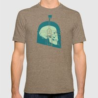 Bounty Hunter Mens Fitted Tee Tri-Coffee SMALL