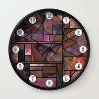 Kaku Nebula Wall Clock