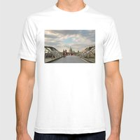We Walk This City Mens Fitted Tee White SMALL