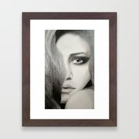 Mary-Kate Framed Art Print