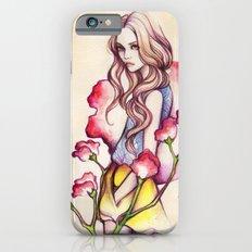 Birth Flower IV - Sweet Pea iPhone 6 Slim Case