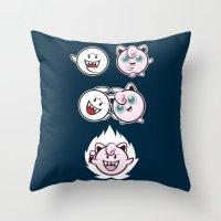Jigglyboo Fusion Throw Pillow