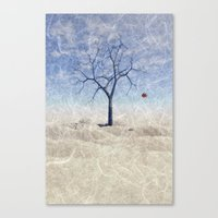 When The Last Leaf Falls Canvas Print