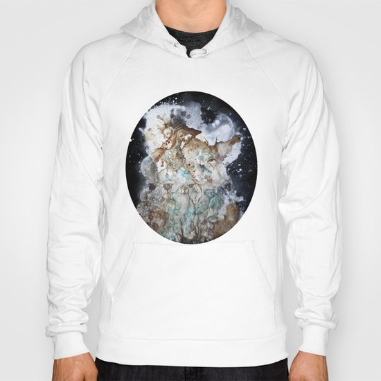 Excerpt / Curacao Coffee on Canvas Hoody