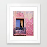 Marrakesh Balcony Framed Art Print