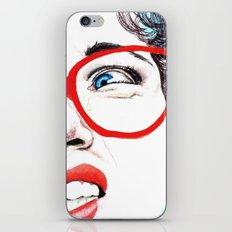 Cara de asco iPhone & iPod Skin