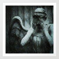 Grief Art Print