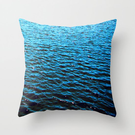 .deep. Throw Pillow