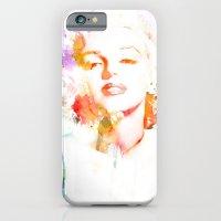 Marilyn Monroe Watercolor Pop Art33 iPhone 6 Slim Case