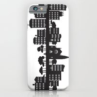 Park Slope Skyline (B&W) iPhone 6 Slim Case