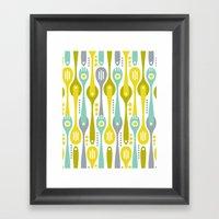 Kitchenette Framed Art Print