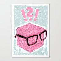 Brainbox Canvas Print
