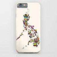 7,107 Islands | A Map Of… iPhone 6 Slim Case