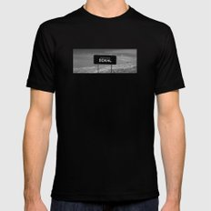 State of denial Mens Fitted Tee SMALL Black