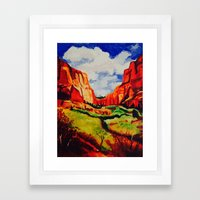 Sedona, Arizona Framed Art Print