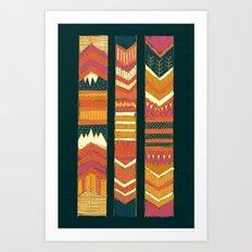 Navii Geometric Tapestry Art Print