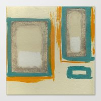 Soft And Bold Rothko Ins… Canvas Print