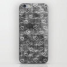 Heart Wave Metallic iPhone & iPod Skin