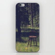 Sitting Elsewhere iPhone & iPod Skin
