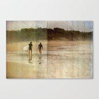 Surfer Love Canvas Print