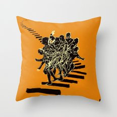 Muto Throw Pillow