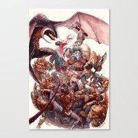 The Barbarian Canvas Print