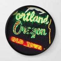 Portland! Wall Clock