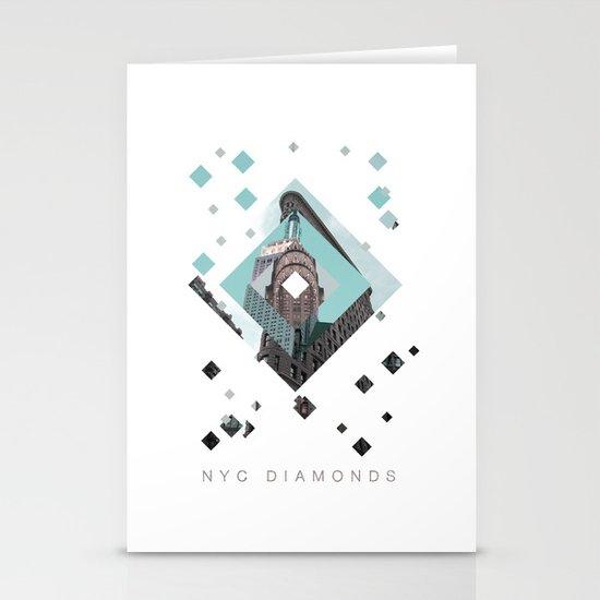 New York City Diamonds Stationery Card