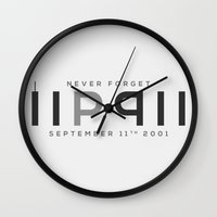 RIP 911; Never Forget Wall Clock