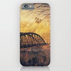 Vintage Rust - abandoned bridge iPhone 6 Slim Case