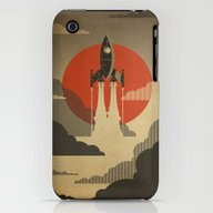 The Voyage (Grey) iPhone (3g, 3gs) Slim Case