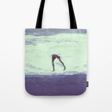 IT'S ALWAYS BETTER UNDER WATER Tote Bag