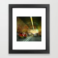 Dartford Tunnel 3 Framed Art Print