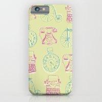Girly Twist Steampunk Inspired Print iPhone 6 Slim Case