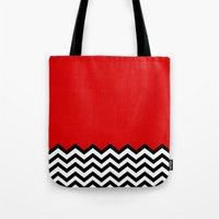 Black Lodge Dreams (Twin Peaks) Tote Bag
