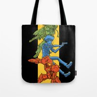 Universe Mighties Bounty Hunters Tote Bag