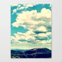 Costa Rican Clouds Canvas Print