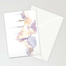 Watercolor landscape illustration_Istanbul - Saint Sophia Stationery Cards
