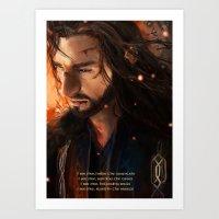 Thorin: I Seefire Art Print
